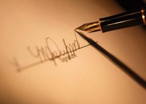 Письменная расписка