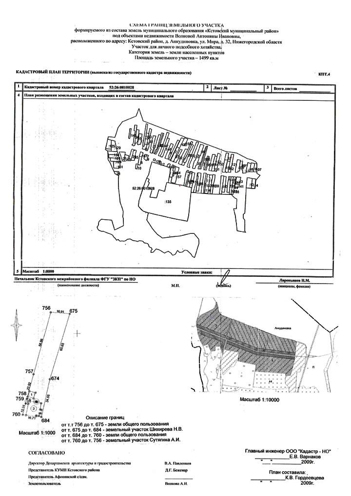 Что такое кадастровый план земельного участка и как он выглядит?